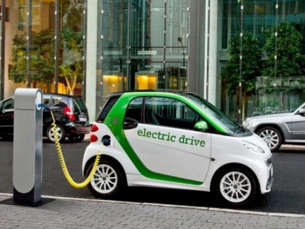 В Китае становится больше зарядных станций для электрокаров