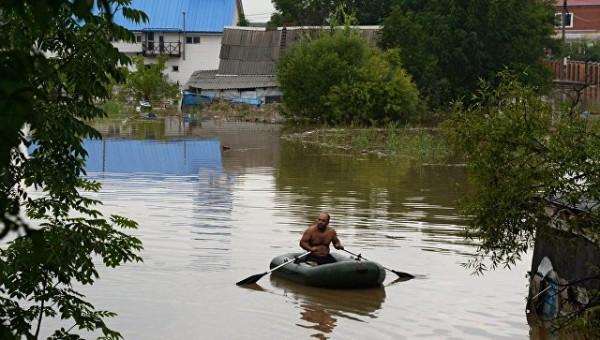 В Приморье остаются подтопленными почти 900 домов
