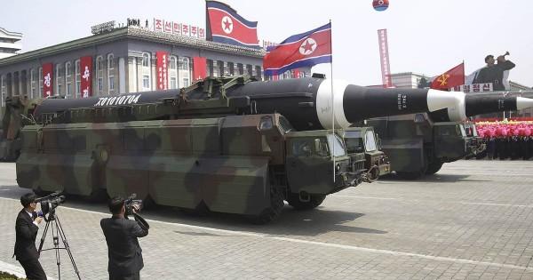 Эксперты рассчитали время полета ракет КНДР к острову Гуам