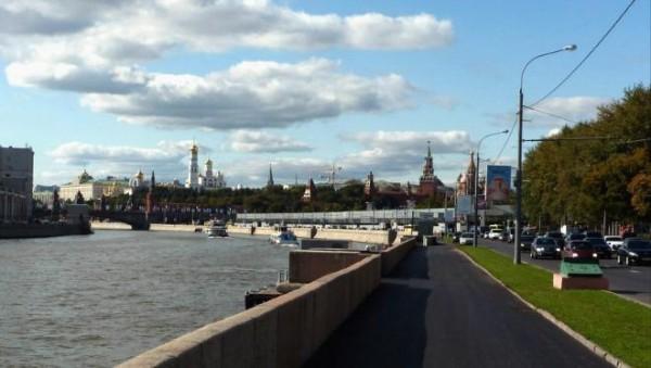 В Москве участок Москворецкой набережной перекроют для реконструкции
