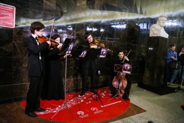 В Московском метро появились новые площадки для музыкантов