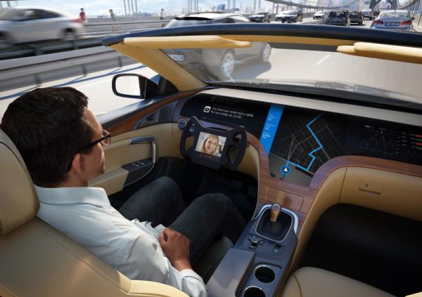Беспилотные автомобили выйдут на российские дороги в 2018 году