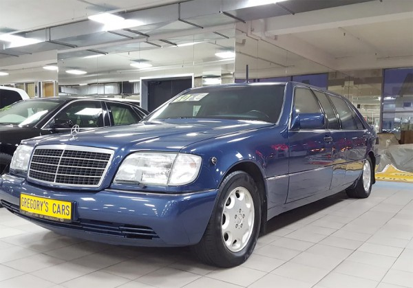 На продажу выставили первый лимузин Mercedes-Benz Бориса Ельцина