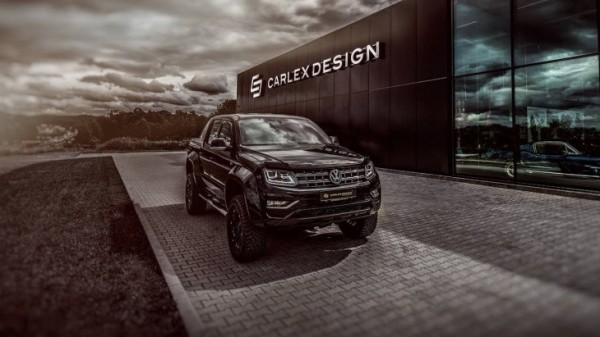 Пикап Volkswagen Amarok получил от тюнеров новый интерьер