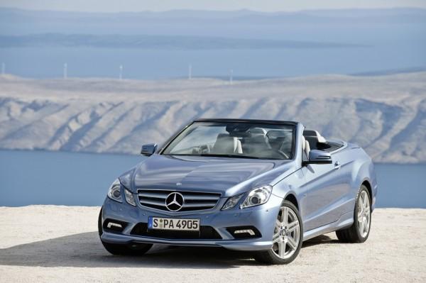 В России с августа стартуют продажи кабриолета Mercedes-Benz Е-Класса