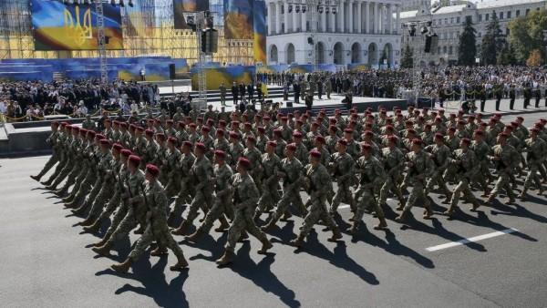 На параде в Киеве в честь Дня независимости примут участие военные НАТО
