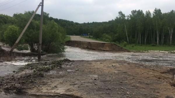 В Приамурье действует режим ЧС из-за аварии на ГЭС