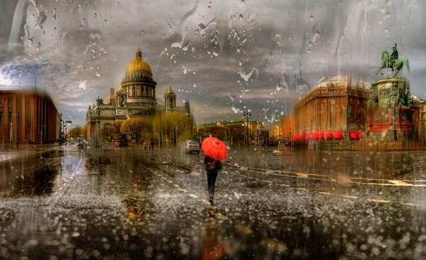 В Санкт-Петербурге выпало рекордное количество осадков за последние сутки