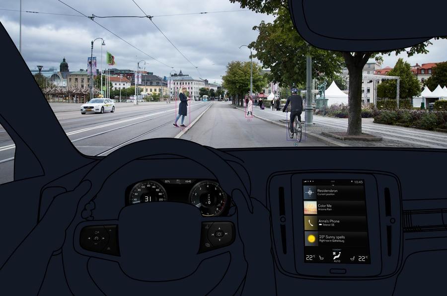 В Вольво поведали обэлектронных системах кроссовера XC40
