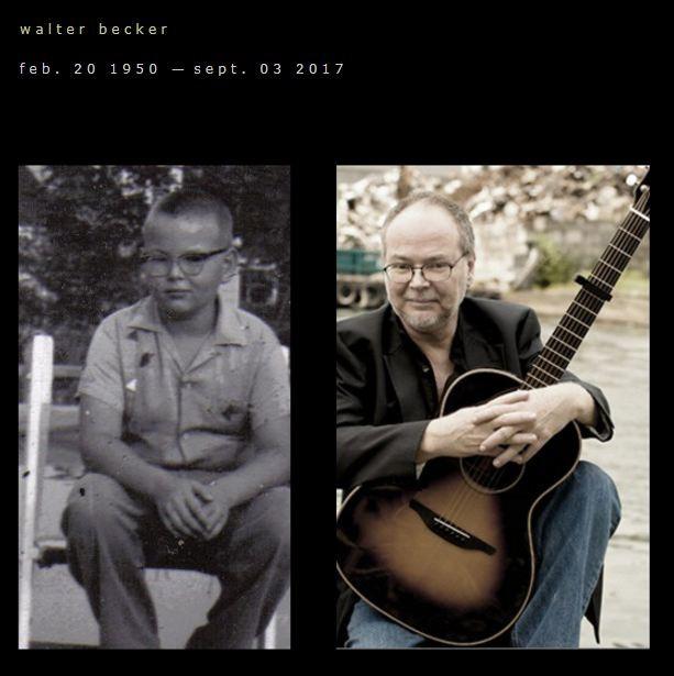 Ввозрасте 67 лет скончался гитарист группы Steely Dan Уолтер Бекер
