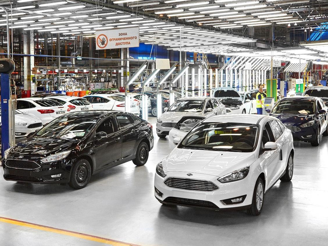 В Российской Федерации производитель Форд покажет газовый Focus, произведенный воВсеволожске
