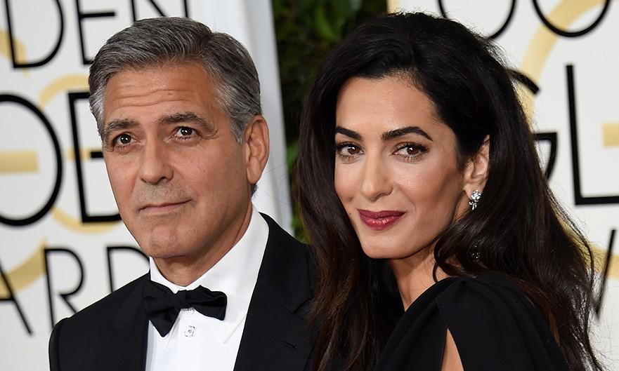 Супруги Клуни помогли беженцу изИрака, выжившему после атаки ИГИЛ