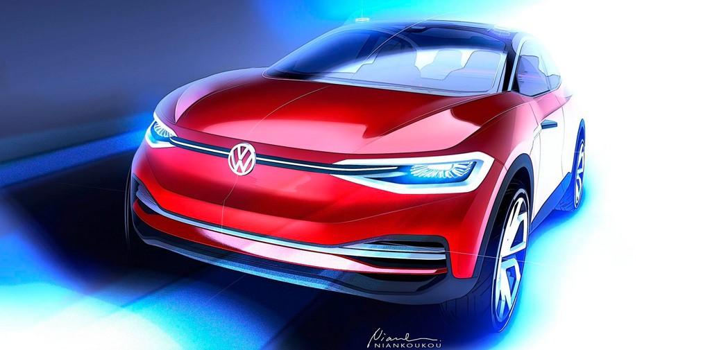 Volkswagen показал дизайн обновленного электрического кроссовера