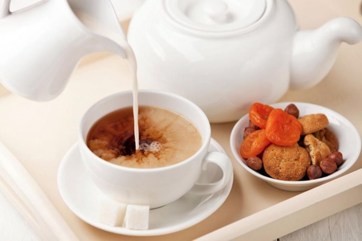Чай с молоком вредна для здоровья