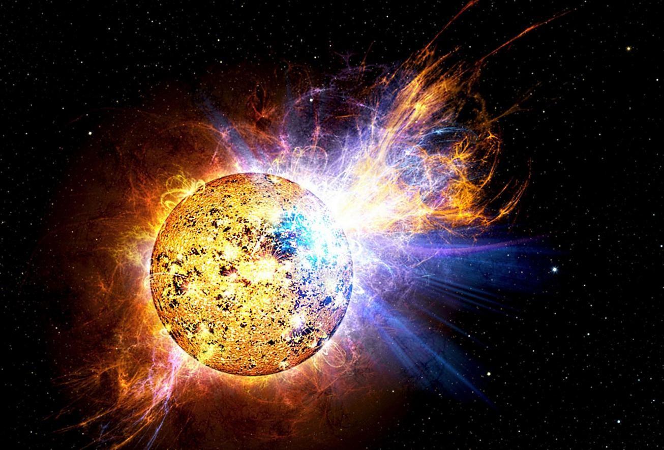 Учёные обещают сильную  магнитную бурю 13сентября из-за вспышки наСолнце