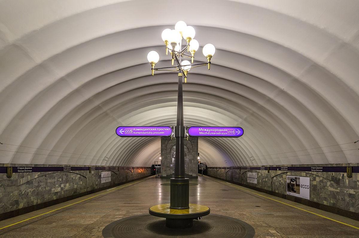 Станцию «Старая деревня» петербургского метрополитена закрывали из-за бесхозного предмета