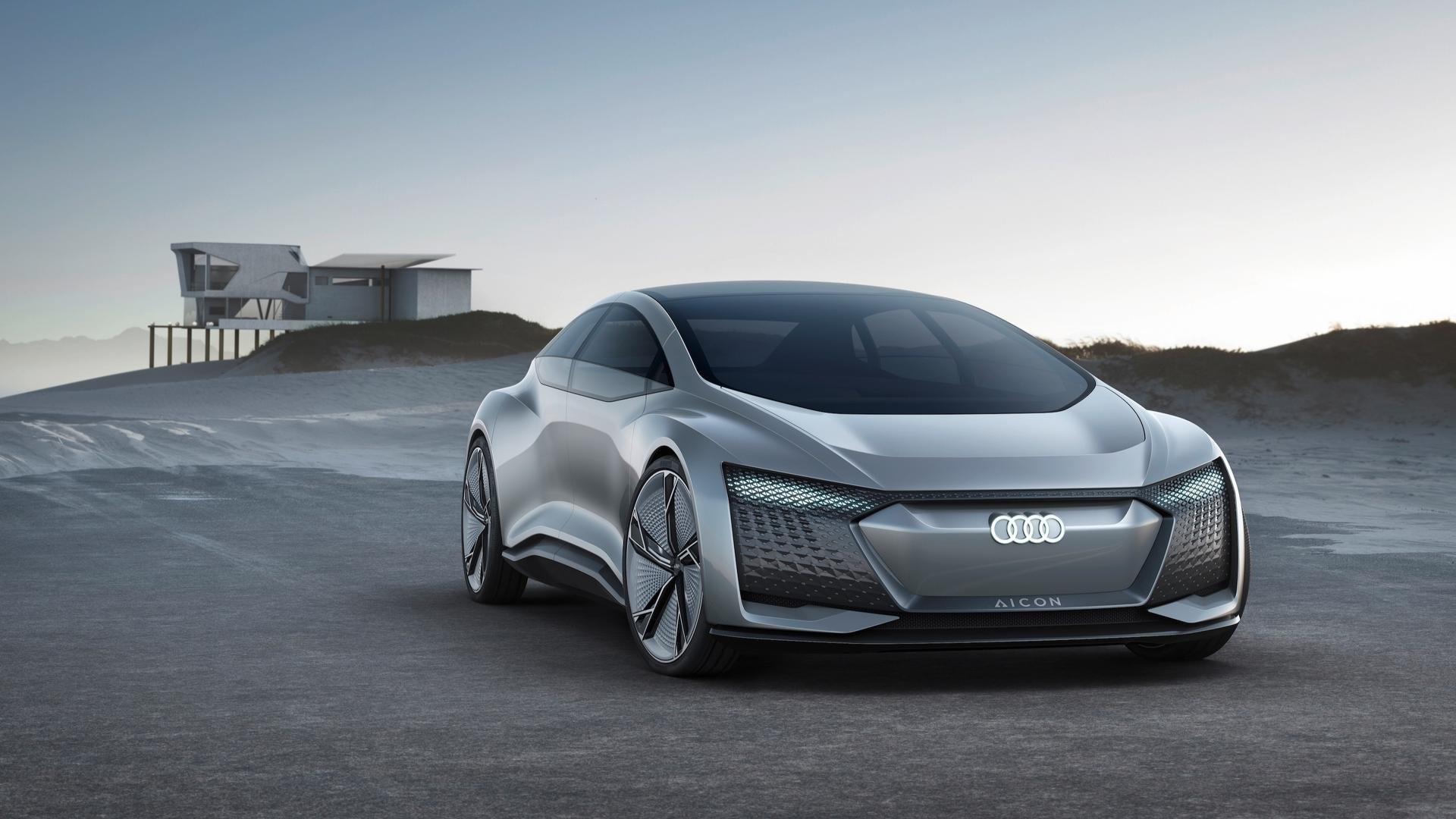 Ауди представила собственный беспилотный концептуальный автомобиль без руля ипедалей