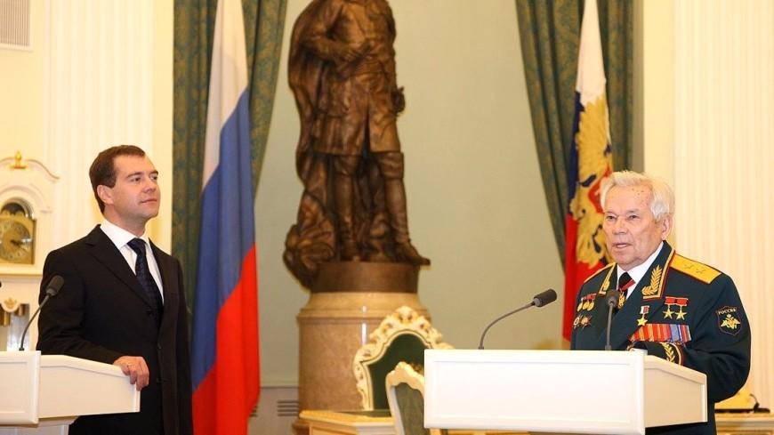 Открытие монумента оружейнику Михаилу Калашникову состоится 19сентября