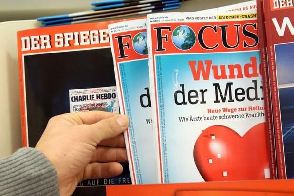 Германские корреспонденты оскорбили В. Путина — Международный скандал