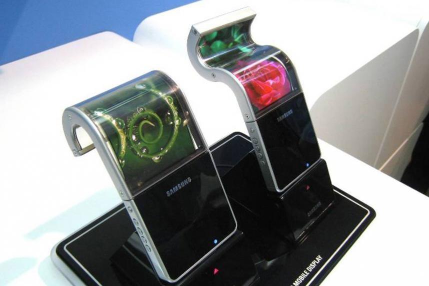 Сгибающийся смартфон Самсунг Galaxy Note появится уже в2018-м