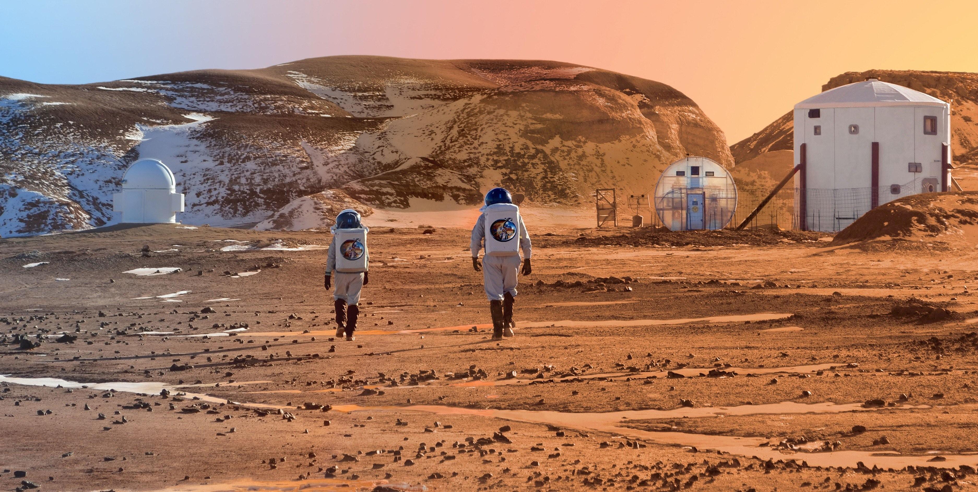 Когда человек полетит наМарс, поведали  вNASA