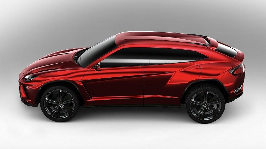 1-ый суперкроссовер Lamborghini представят 4декабря