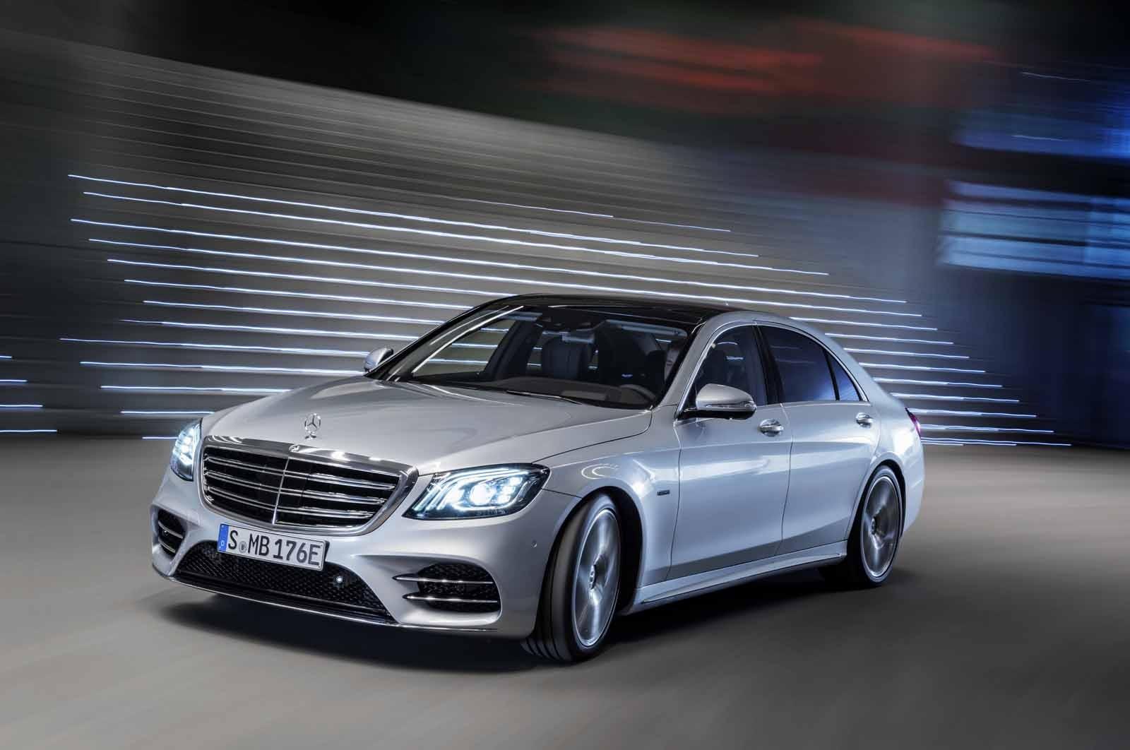 Benz S-Class научился тратить горючее наравне с Тойота Prius
