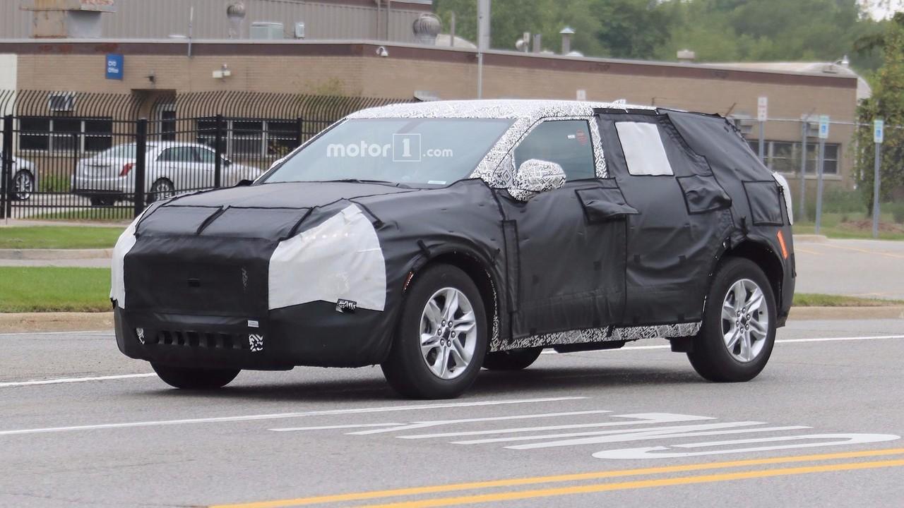 Возрожденный вседорожный автомобиль Шевроле Blazer засняли натестах вСША
