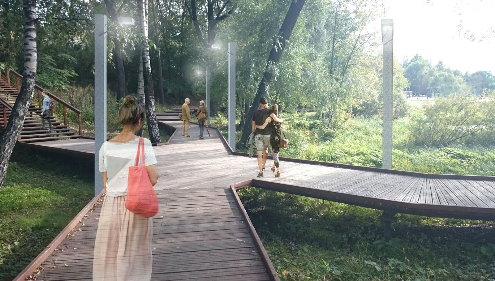 Парк «Академический» открыли наюго-западе столицы