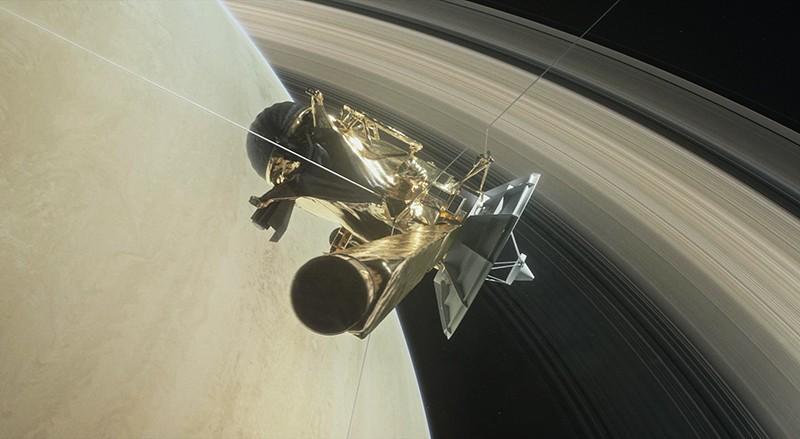 Зонд Cassini завершил свою миссию и сгорел в атмосфере Сатурна