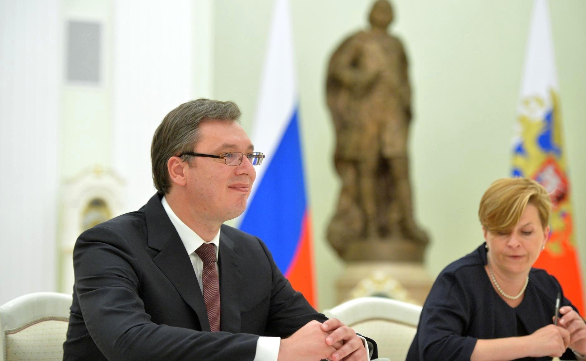 Вучич объявил, что полноправное членство вЕС— приоритет Сербии