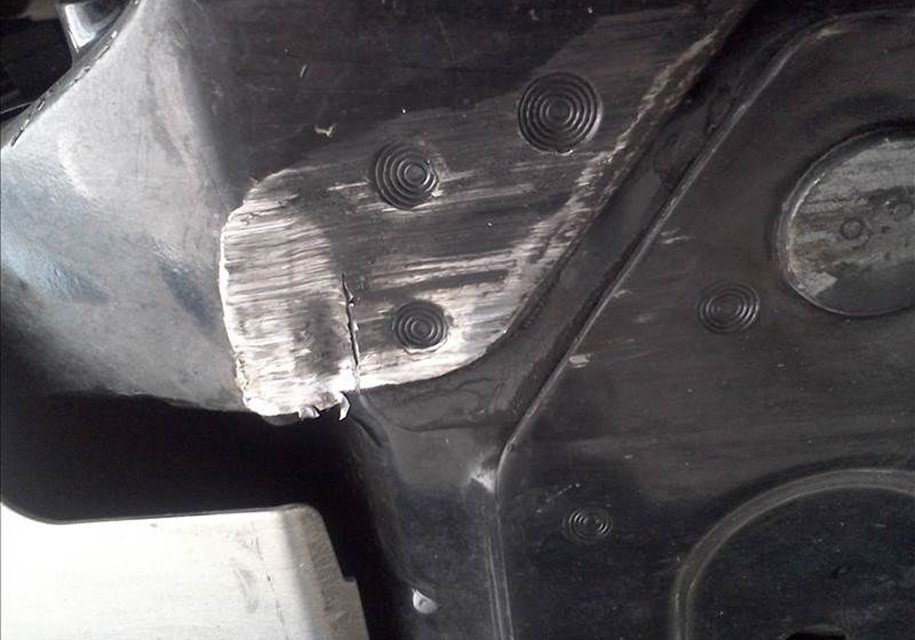 ВСША новый Шевроле Corvette списали из-за трещины