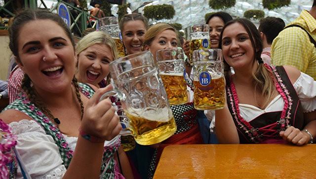 Фестиваль пива «Октоберфест» стартовал вМюнхене