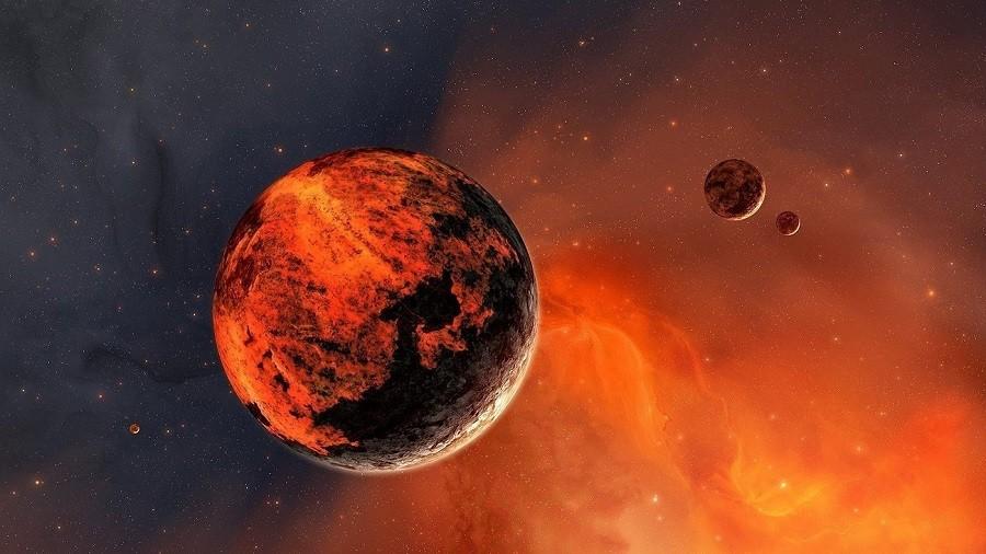Нановых снимках Марса найдено лицо пришельца— Уфологи