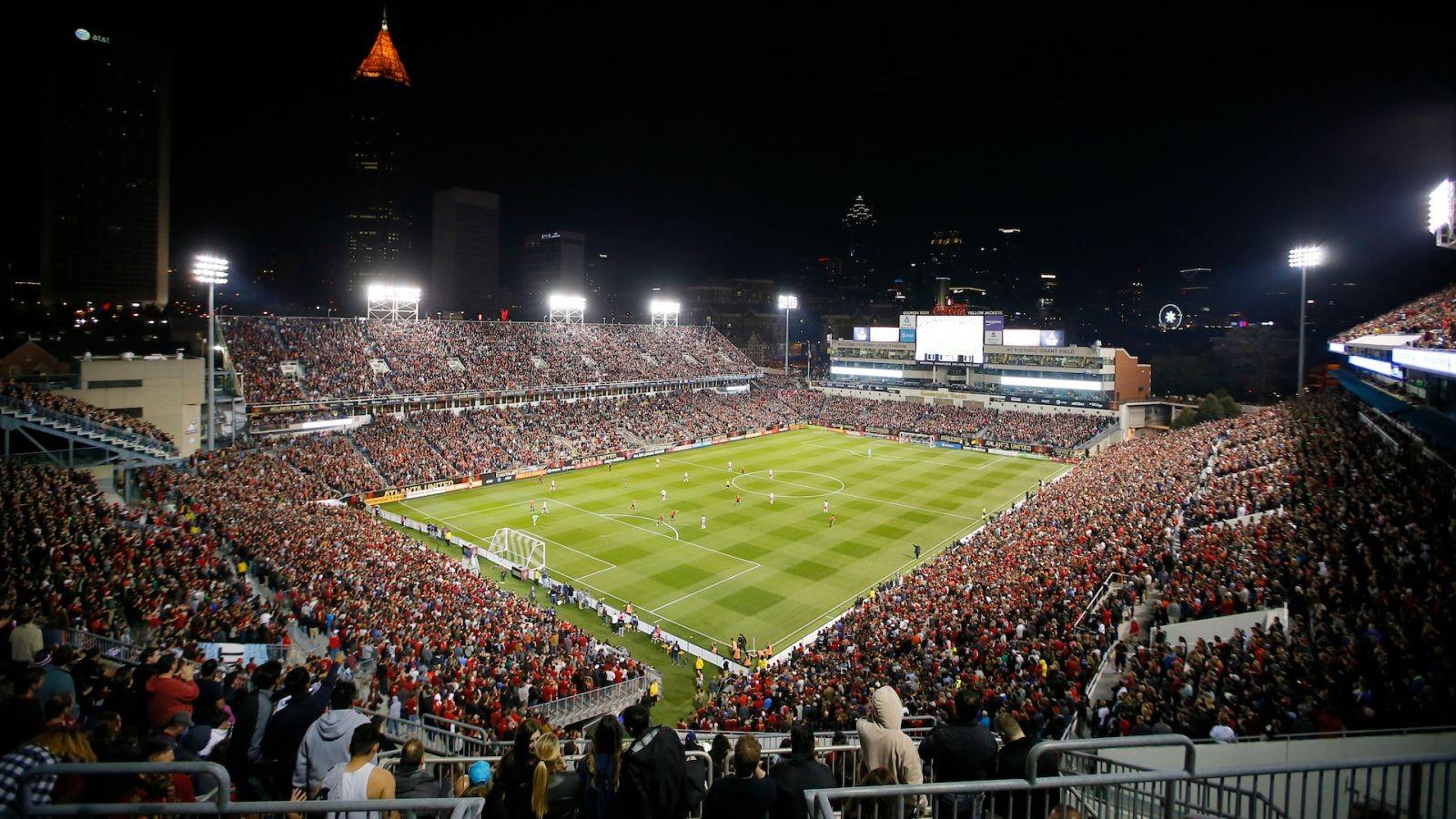 Матч «Атланта»— «Орландо» собрал 70 тыс. наблюдателей, побив рекорд посещаемости MLS