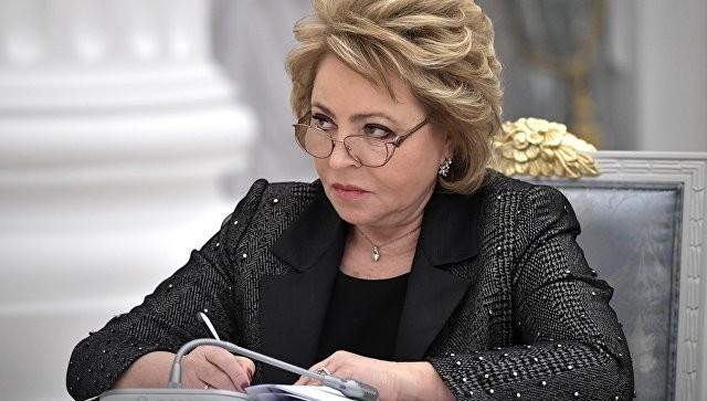 Матвиенко назвала идею ввода миротворцев награницуРФ иУкраины нелогичной
