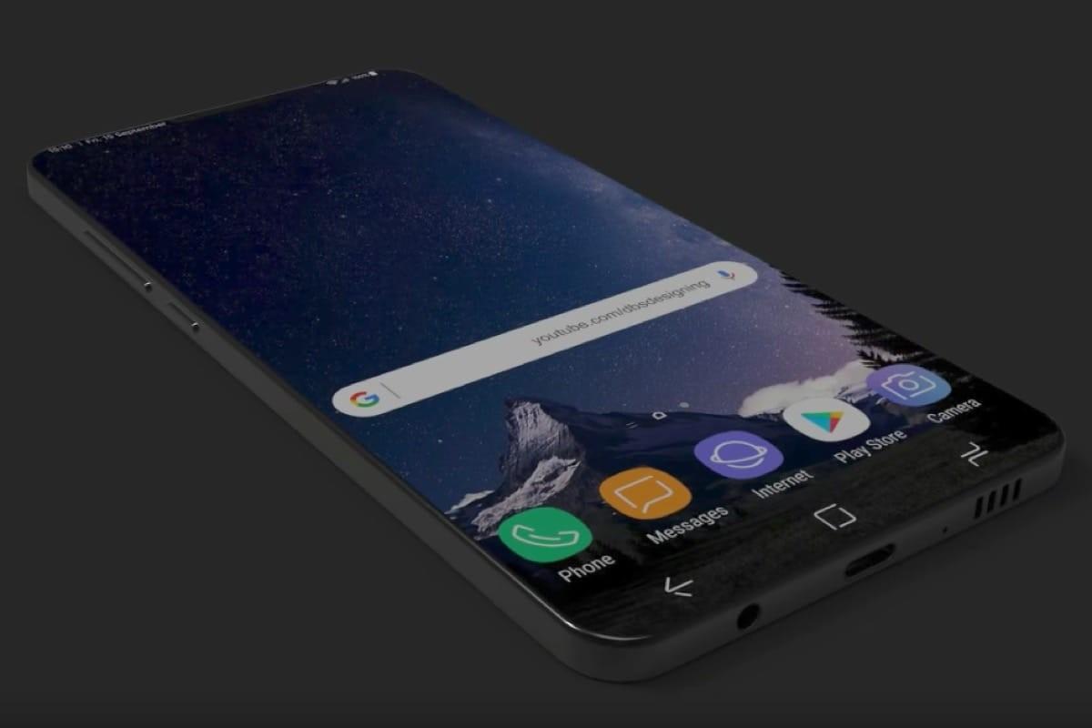 Абсолютно безрамочный Самсунг Galaxy S9 показали навидео