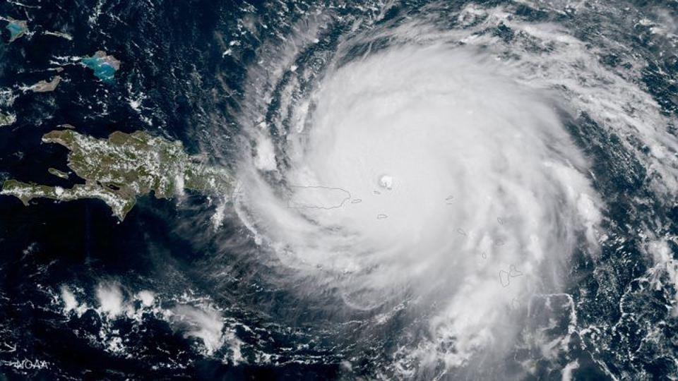 «Мария» набирает обороты: циклон усилился до небезопасной 4-ой категории