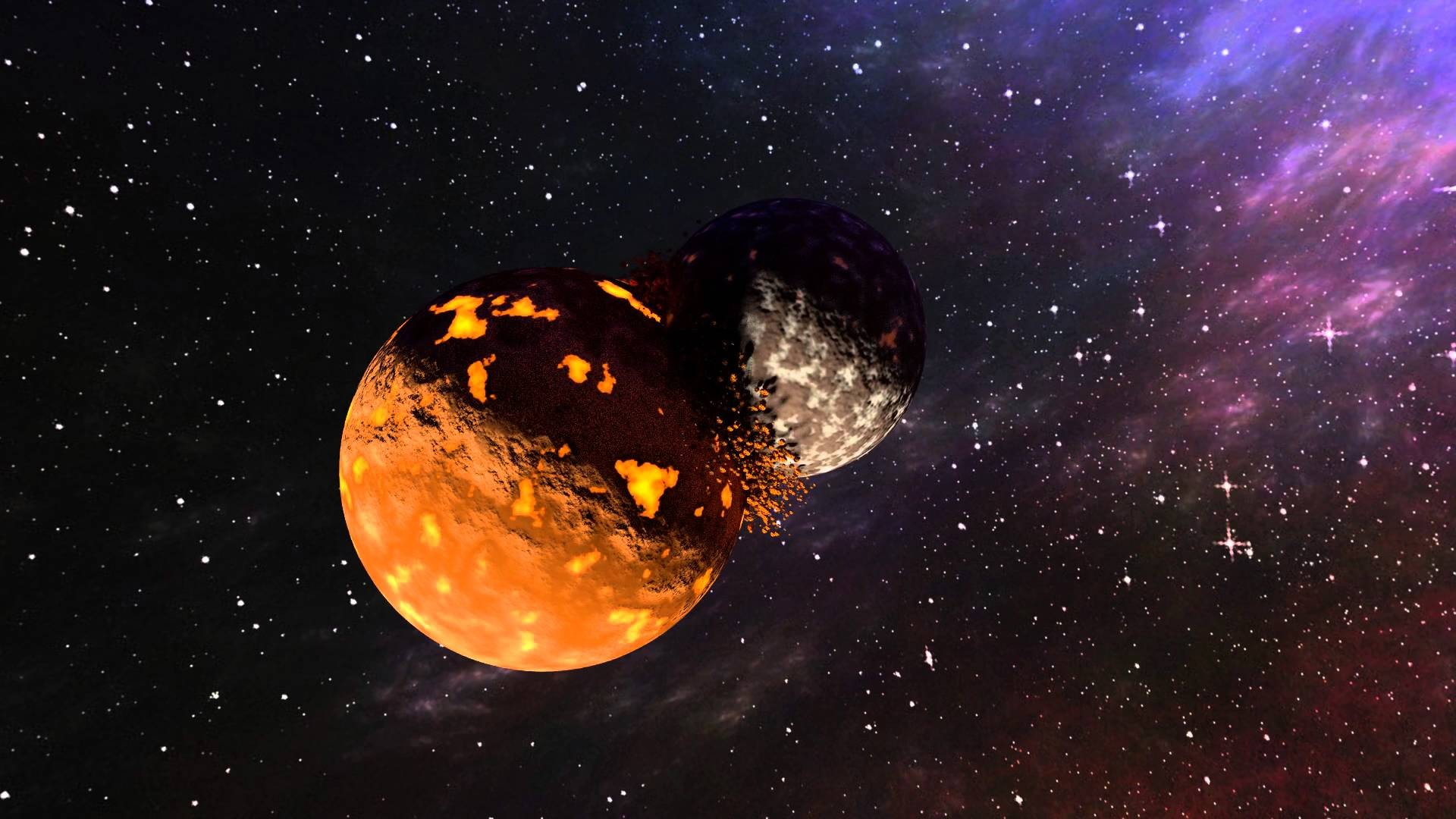 Земля столкнется сМарсом вдальнейшем - астрофизики