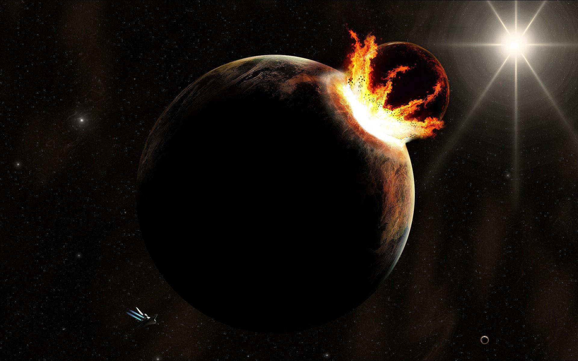Вдальнейшем все-таки возможно столкновение Земли сМарсом
