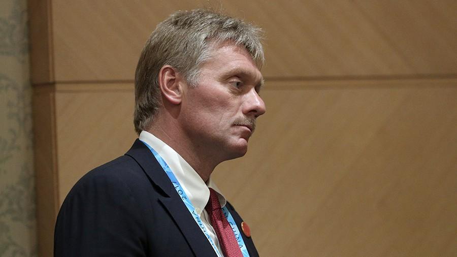 Песков: Появление миротворцев вДонбассе зависит отконструктивности Украины иСША