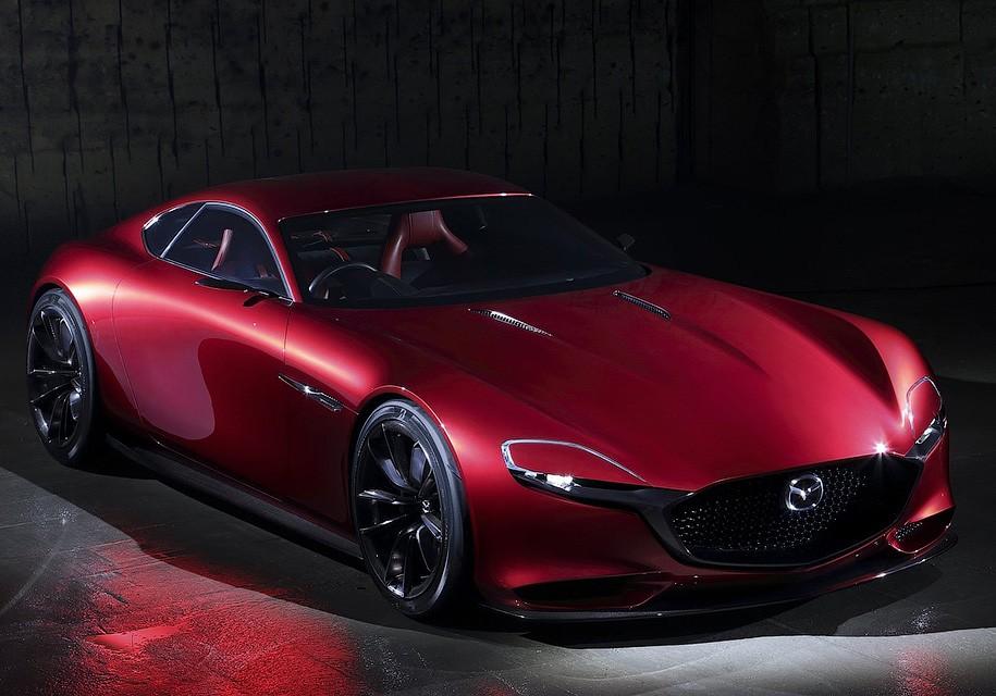 Мазда представит вТокио новый роторный концептуальный автомобиль