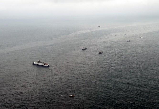 ВКитайской республике затонуло судно сдесятью членами экипажа