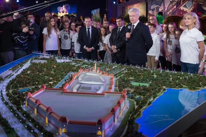 С.Собянин: Парк «Остров мечты» будет оснащен пандусами для людей сограниченными возможностями