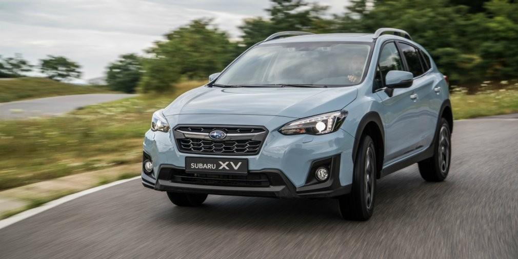 Названы рублевые цены на новый Subaru XV