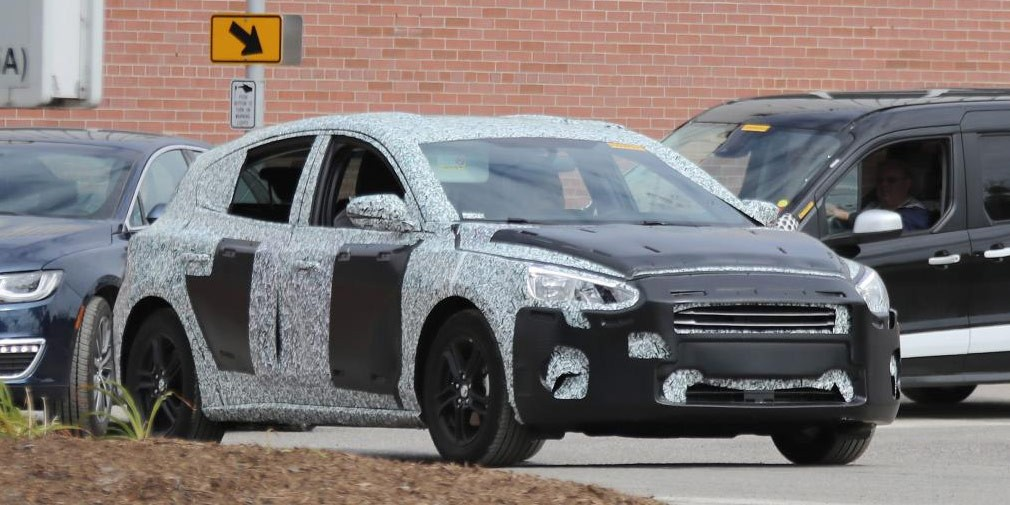 Форд начал заключительные тесты обновленного поколения модели Focus