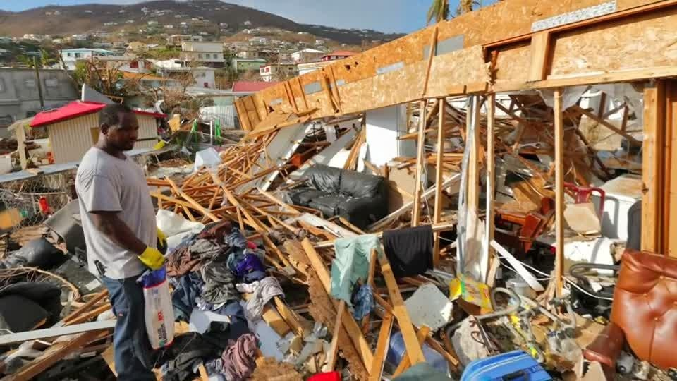 ВДоминикане из-за урагана «Мария» объявили максимальный уровень тревоги