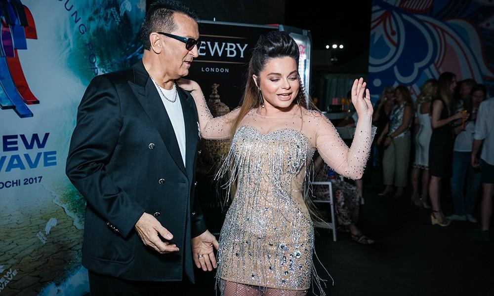 Наташа Королева представила премьеру песни на«Новой Волне» вСочи