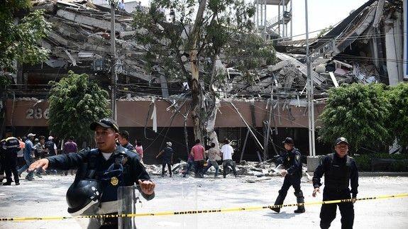 Матчи Кубка Мексики перенесены из-за разрушительного землетрясения