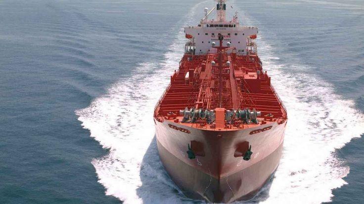 В КНР спустили наводу наибольший вмире танкер-рудовоз